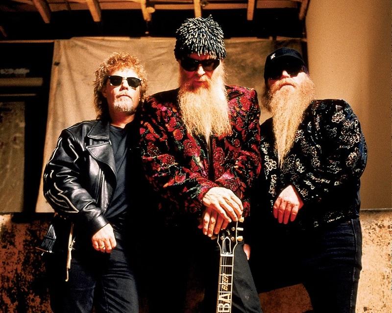 Dusty Hill - ZZ Top en banda.