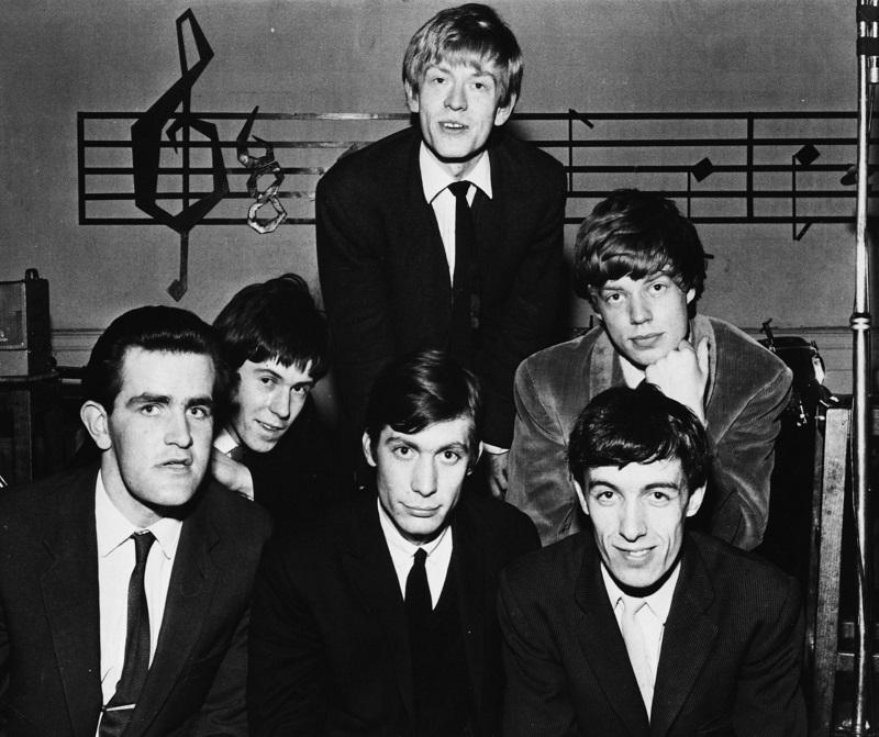 Stones - Rolling Stones con Ian Stewart