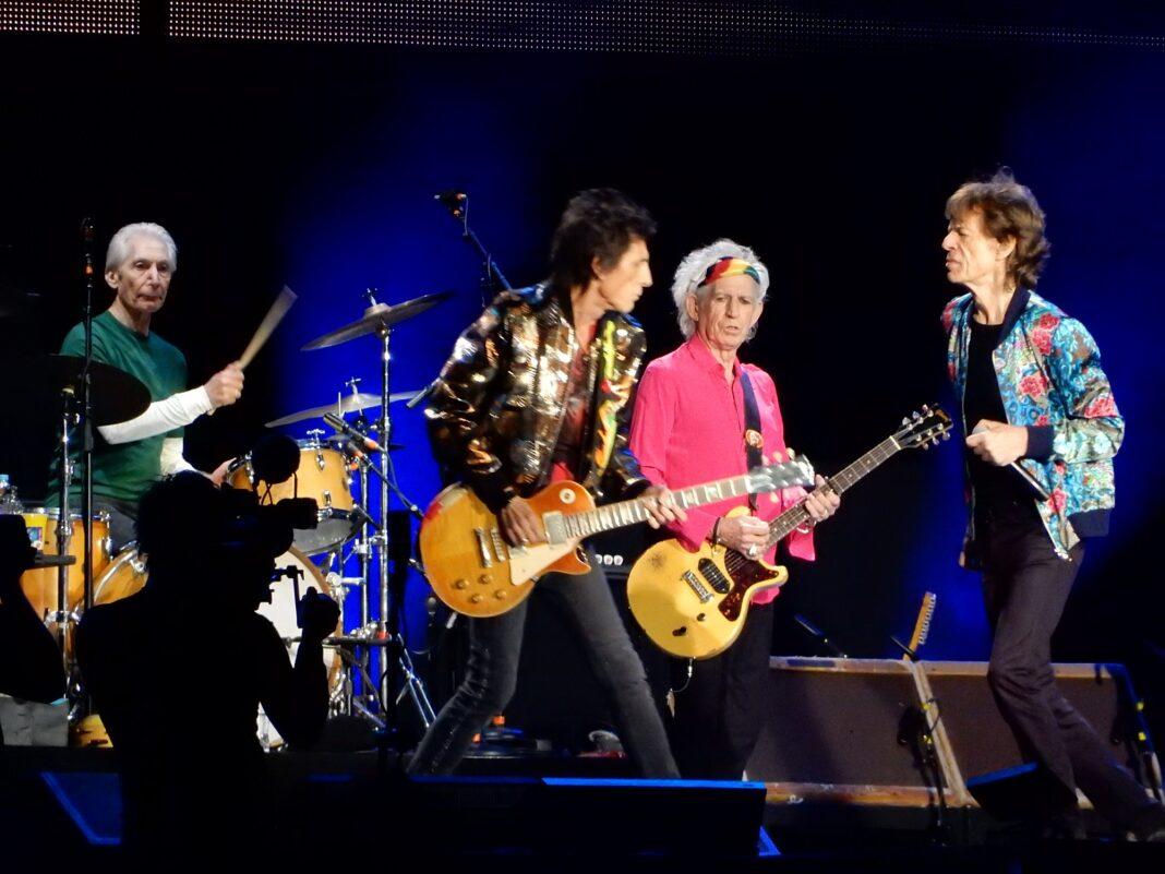 Charlie Watts - The Rolling Stones en vivo.
